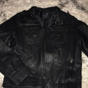 Black Pleather jacket